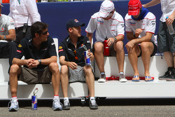 Mark Webber, Red Bull Racing, Sebastian Vettel, Red Bull Racing, Timo Glock, Toyota F1 Team y Jarno