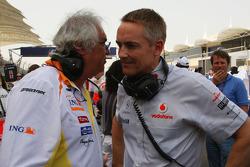 Flavio Briatore, Renault F1 Team, Director General y jefe del equipo, Martin Whitmarsh, McLaren, Dir