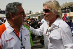 Vijay Mallya, Force India F1 Team, Owner ve Kingfisher CEO ve Sir Richard Branson CEO, Virgin Group