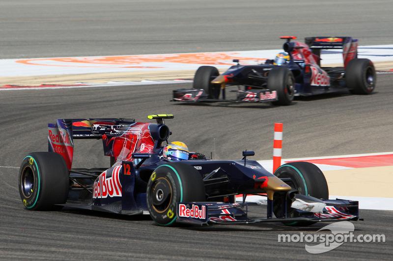 Sebastien Buemi, Scuderia Toro Rosso ve Sebastien Bourdais, Scuderia Toro Rosso