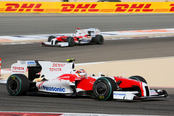 Тимо Глок и Ярно Трулли, Toyota F1 Team