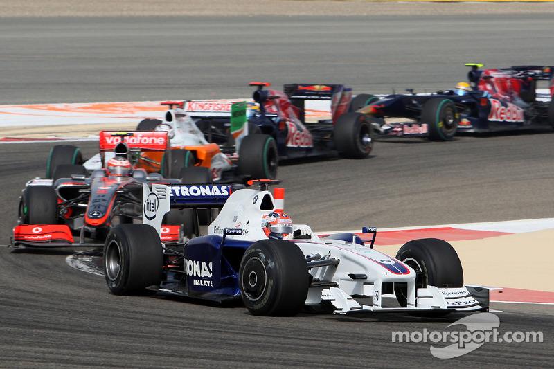 Robert Kubica, BMW Sauber F1 Team ve demolished ön kanat