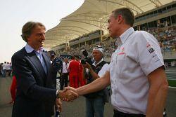 Luca di Montezemolo, Scuderia Ferrari, FIAT Yönetim Kurulu Başkanı ve Başkanı, Ferrari ve Martin Whi