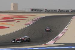Timo Glock, Toyota F1 Team ve Jarno Trulli, Toyota Racing
