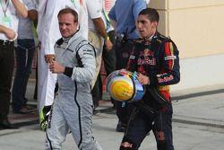 Rubens Barrichello, Brawn GP ve Sebastien Buemi, Scuderia Toro Rosso