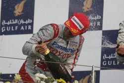 Podyum: 3. Jarno Trulli, Toyota F1 Team