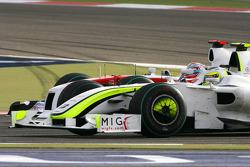 Rubens Barrichello, Brawn GP y Jarno Trulli, Toyota F1 Team