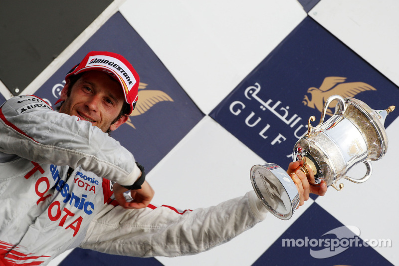 Podio: tercer lugar Jarno Trulli, Toyota F1 Team