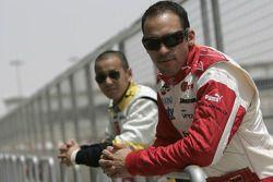 Pastor Maldonado et Sakon Yamamoto