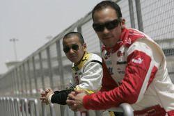 Sakon Yamamoto et Pastor Maldonado