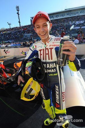 Segundo lugar Valentino Rossi, Fiat Yamaha Team