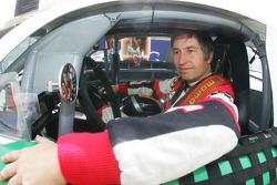 Heinz-Harald Frentzen, Team Lavaggi, sur la grille