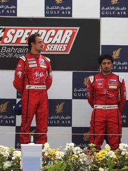 Podium: Vitantonio Liuzzi, UP Team, vainqueur ; Hasher Al Maktoum, UP Team, troisième