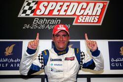 Le champion des Speedcar Series Gianni Morbidelli, Palm Beach