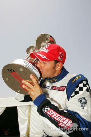 Gianni Morbidelli Palm Beach celebrates his championship success