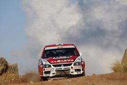 Juan Marchetto and Jose Diaz, Mitsubishi Lancer Evo IX
