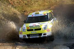 Aaron Nikolai Burkart and Michael Koelbach, Suzuki Swift S1600
