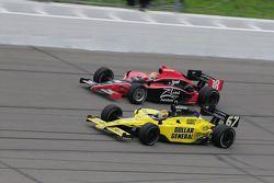 Justin Wilson, Dale Coyne Racing runs with Sarah Fisher, Sarah Fisher Racing