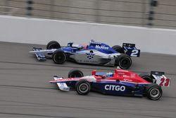 Raphael Matos, Luzco Dragon Racing runs with Milka Duno, Dreyer & Reinbold Racing