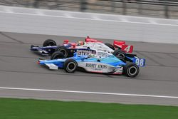 Dan Wheldon, Panther Racing runs with Stanton Barrett, Curb/Agajanian/3G