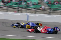 Hideki Mutoh, Andretti Green Racing and Mike Conway, Dreyer & Reinbold running together