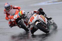 Alex De Angelis, San Carlo Honda Gresini, Nicky Hayden, Ducati Marlboro Team