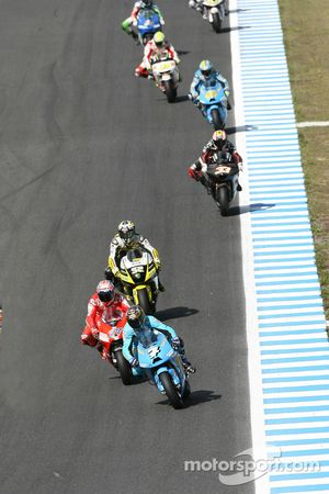 Chris Vermeulen, Rizla Suzuki MotoGP, Casey Stoner, Ducati Marlboro Team