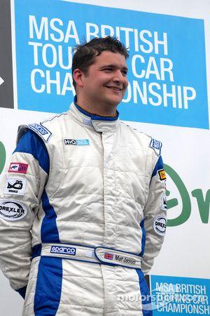 Mat Jackson round 6 winner