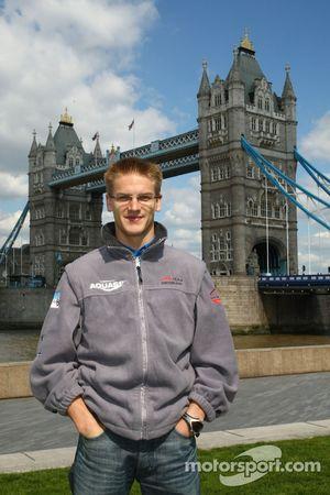 Alexandre Imperatori, driver of A1 Team Switzerland