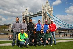 A1GP Drivers visit London