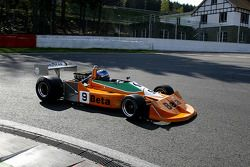 #9 Peter Meyrick (GB) March 761, AMR (formerly driven by Vittorio Brambilla, 1976)