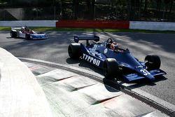 Bill Coombs (GB) Tyrrell 009-01 N°33, Startline Racing (Anciennement pilotée par Jean-Pierre Jarier, 1979); Rodrigo Gallego (P) March 761/8 N°8, MEC Auto (1976)