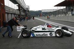 Richard Eyre (GB) Williams FW08-3 N°6, RJM Motorsport (1982)