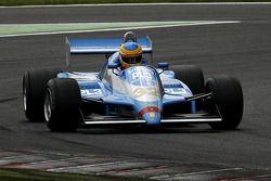 Terry Sayles (GB) Osella FA1-D N°32, JRT Belgium (1982)
