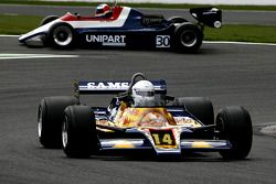 Michel Baudoin (F) Shadow DN9 N°14, Ecurie Griffiths (Anciennement pilotée par Jan Lammers, 1978) ; David Abbott (GB) Arrows A4 N°30, Mirage (1982)