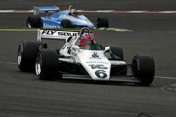 Richard Eyre (GB) Williams FW08-3, RJM Motorsport (1982) N°6 ; Terry Sayles (GB) Osella FA1-D N°32, JRT Belgium (1982)