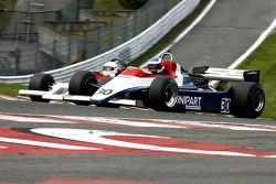 David Abbott (GB) Arrows A4 N°30, Mirage (1982) ; Luciano Quaggia (I) Theodore TR1 N°35, F1 Storiche (1978)