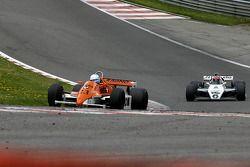 Abba Kogan (BR) Arrows A3/4 N°23, Hall & Hall (1980) ; Richard Eyre (GB) Williams FW08-3 N°6, RJM Motorsport (1982)