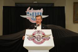 500 Miles d'Indianapolis 2009, présentation de la Chevrolet Camaro pace car pour 2010 : triple vainq