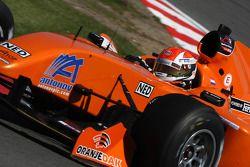 Dennis Retera, coureur de l'équipe A1 des Pays-Bas
