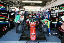 Cristiano Morgado, pilote A1 Team South Africa