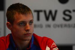 Aaron Steele, rookie en A1 GP (Grande Bretagne)