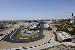 Vue d'ensemble du circuit de Jerez