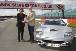Tourist Trophy: Stéphane Ratel with the Tourist Trophy