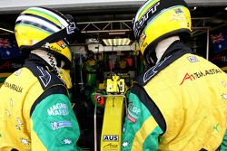 Mécaniciens de l'équipe A1GP d'Australie