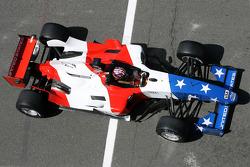 J. R. Hildebrand, driver of A1 Team USA