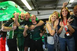 Team Ireland celebrate