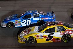 Mark Martin and Joey Logano