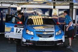 Alain Menu, Chevrolet, Chevrolet Cruze