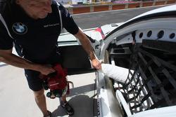 Jorg Muller, BMW Team Germany, BMW 320si est frais